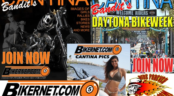 BIKERNET.COM'S CANTINA IS LOADED WITH GREAT CONTENT