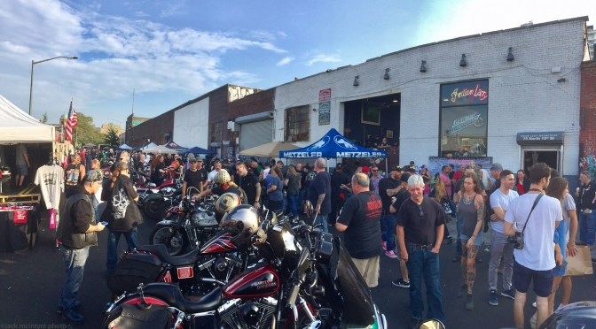 THE INDIAN LARRY MOTORCYCLES BLOCK PARTY 2017