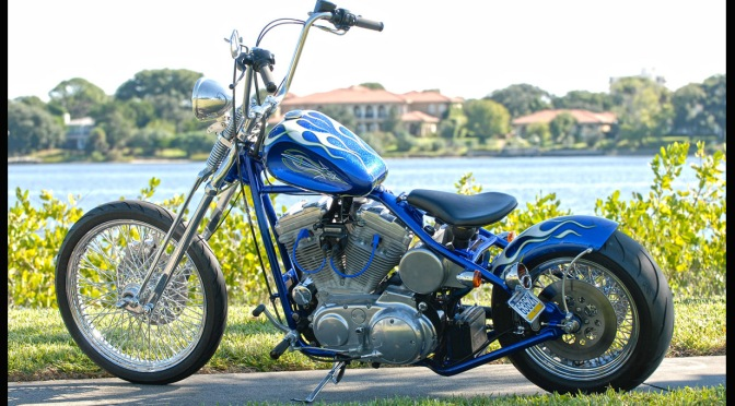 JOHNNY MAC'S CHOPPER HOUSE SPORTSTER TO BOBBER CONVERSION