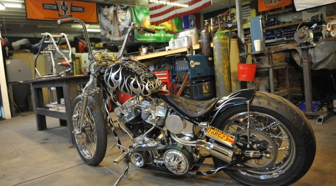 "INDIAN LARRY MOTORCYCLES, ""QUESTION EVERYTHING"""