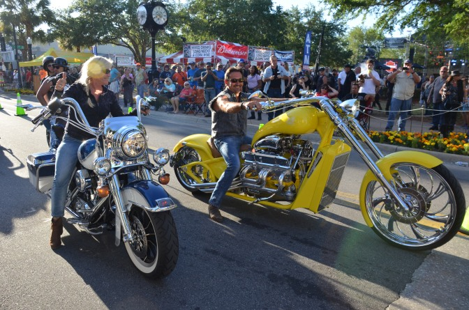 SOME CROWD SHOTS FROM THE 2019 LEESBURG BIKEFEST