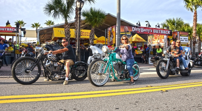 THURSDAYS ACTION AT DAYTONA BIKETOBERFEST 2019