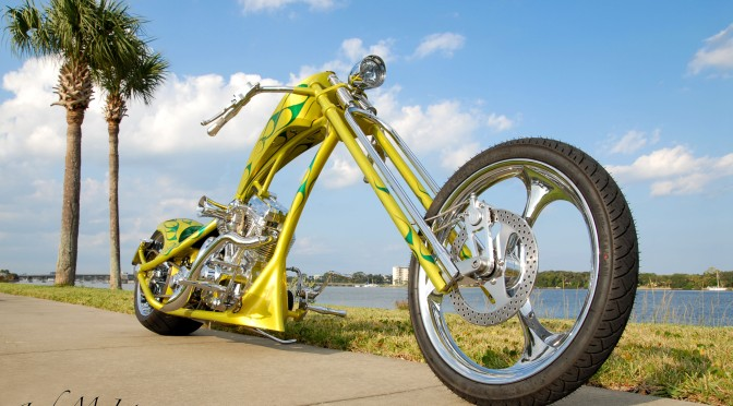 JERRY GRAVES CUSTOM CHOPPER, LIMON