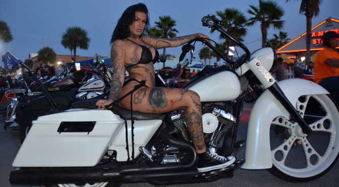 DAYTONA BIKETOBERFEST THURSDAY HAPPENINGS.
